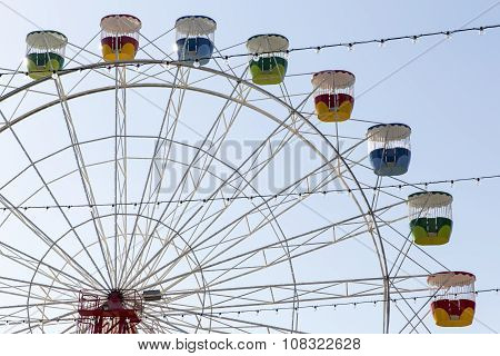Ferris Wheel at Luna Park amusement park