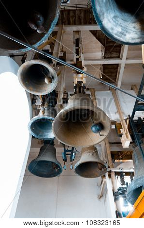Large Ancient Bells Of Kyiv