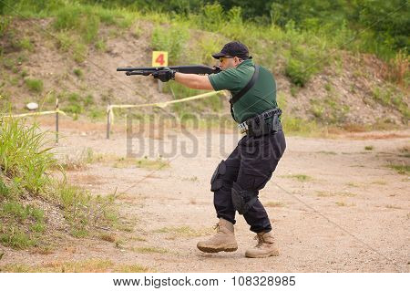 Shotgun Shooting Training