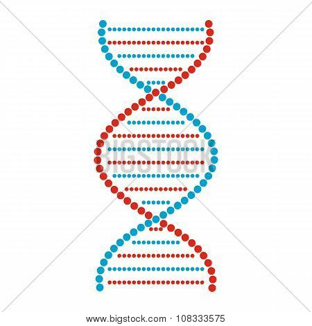 Flat DNA and molecule sign