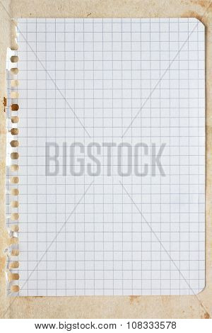 Blank Square Sheet Of Paper