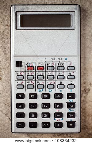 Old Electronic Calculator