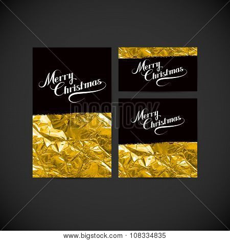 Merry Christmas. Holiday Vector Illustration.