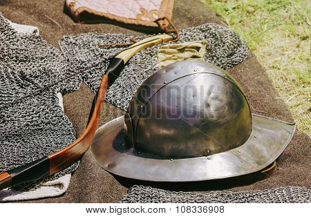 The Old Metal Helmet