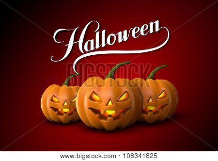 Halloween Pumpkin Jack Lanterns