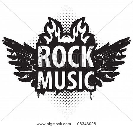 Rock Music In The Fire
