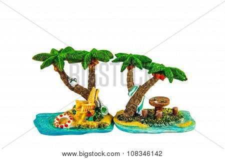 Toys Statuette Palm trees
