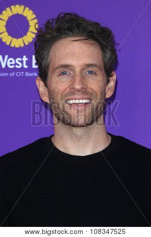 LOS ANGELES - NOV 15:  Glenn Howerton at the Express Yourself 2015 presented by P.S. ARTS at the Barker Hanger on November 15, 2015 in Santa Monica, CA