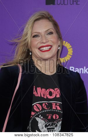 LOS ANGELES - NOV 15:  Emily Procter at the Express Yourself 2015 presented by P.S. ARTS at the Barker Hanger on November 15, 2015 in Santa Monica, CA