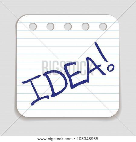 Doodle Idea icon.