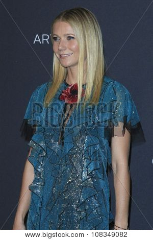 LOS ANGELES - NOV 7:  Gwyneth Paltrow at the LACMA Art + Film Gala at the  LACMA on November 7, 2015 in Los Angeles, CA