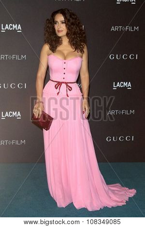 LOS ANGELES - NOV 7:  Salma Hayek at the LACMA Art + Film Gala at the  LACMA on November 7, 2015 in Los Angeles, CA