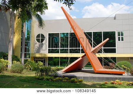 Meralco Development Center (MMLDC) facade Antipolo, Philippines