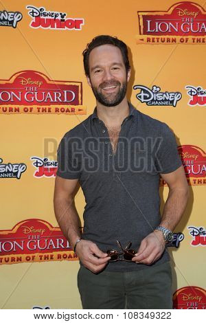 LOS ANGELES - NOV 14:  Chris Diamantopoulos at the
