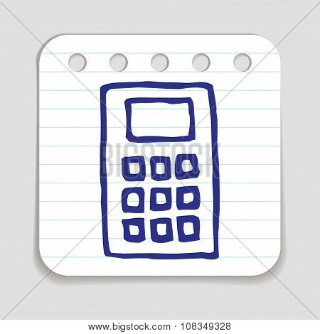 Doodle Calculator icon.