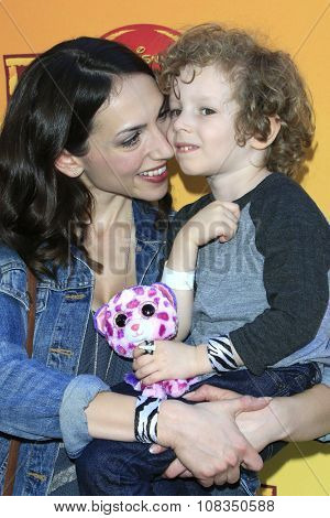 LOS ANGELES - NOV 14:  Eden Riegel, Jack Miller at the