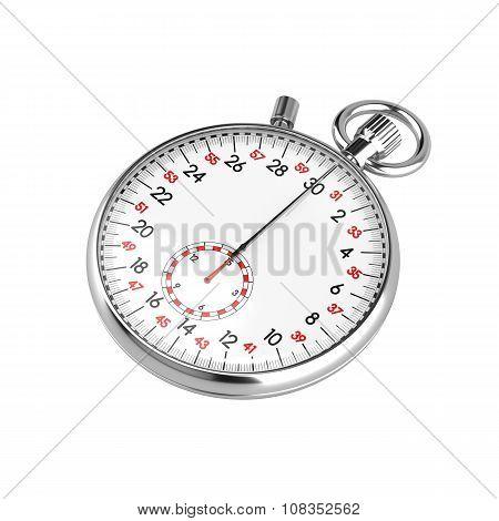 Mechanical stopwatch illustration