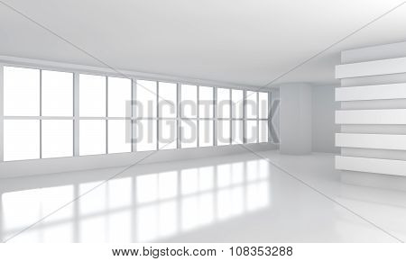 Big White Business Room with Window