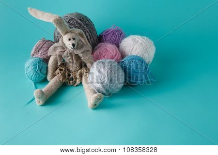 Cozy Doll With Colored Clew