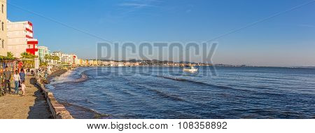 Panorama of Durres in Albania