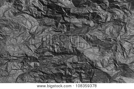 texture of crumpled paper