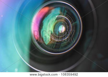 Objective Lens Background