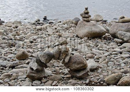 Balanced Stones Sculpture