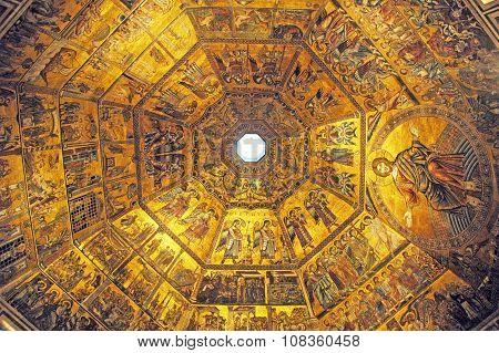 Frescoes, Florence,Italy