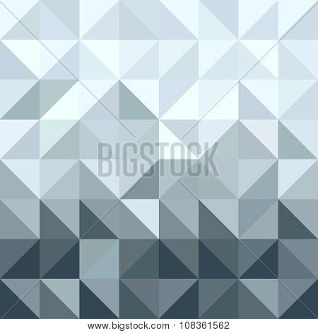 Silver Metal Elegant Geometry Seamless Pattern