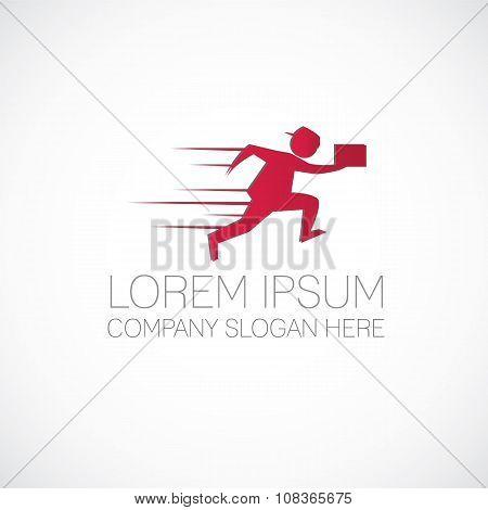 Fast Running Man Logo