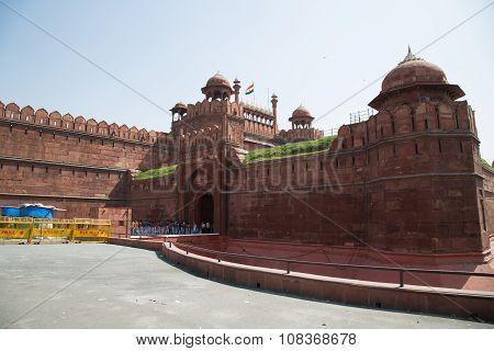 Red Fort, Unesco World Heritage Site, Delhi, India