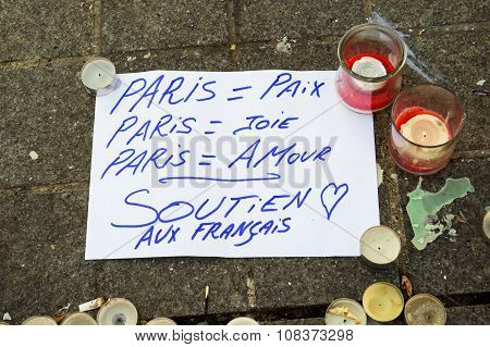 Paris Peace, Fun and Love