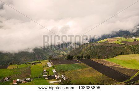 Tungurahua Volcano, Aerial View