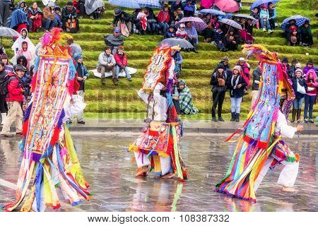 Inti Raymi, Time When The Earth Offers  Fruits