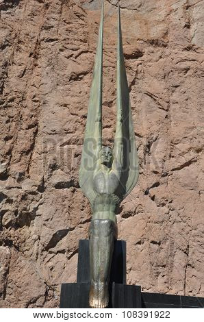 Winged Figures of the Republic at Hoover Dam in Nevada