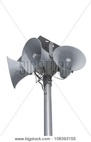 Loudspeaker Isolated On White