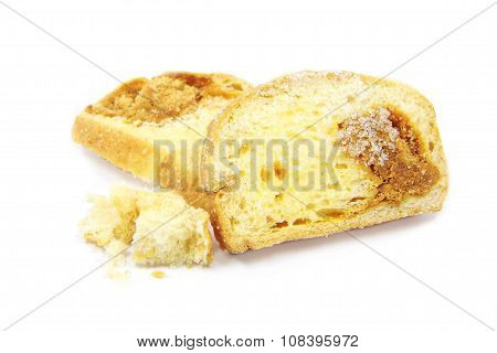 Slice of Dried shredded pork bread