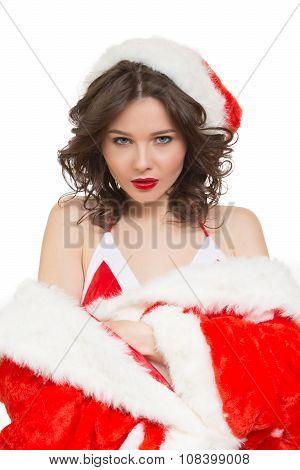 Snow Maiden sexy. santa girl
