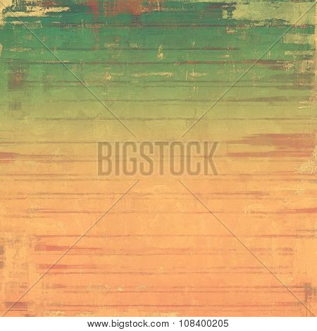 Beautiful vintage background. With different color patterns: yellow (beige); brown; green; pink