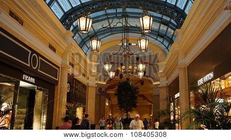 The Bellagio Hotel and Casino in Las Vegas