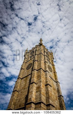 St Ia's Church clock tower