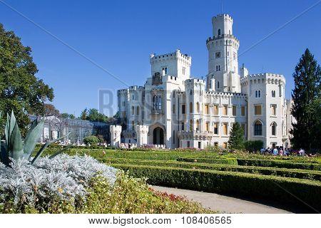 castle Hluboka nad Vltavou, Czech Republic