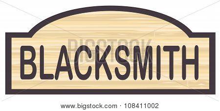 Blacksmith Store Sign