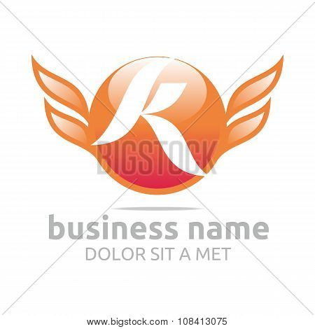 Design Logo Lettering K wings