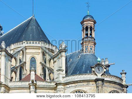 The Church Of Saint Eustace, Paris.