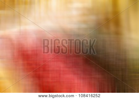 Abstract Blurred Image Of A Striped Background