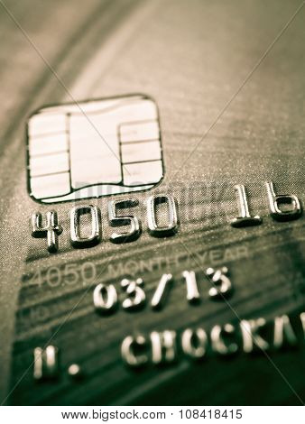 Credit Card And Chip Macro