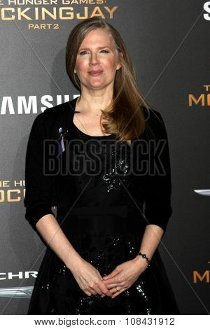 LOS ANGELES - NOV 16:  Suzanne Collins at the
