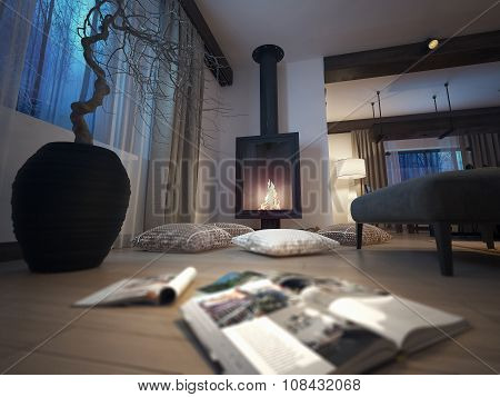 Fireplace Room