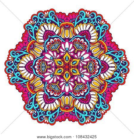 Decorative Mandala Color